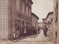 Histoires : Village de St Clair du Rhône