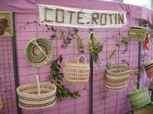 Exposition de vannerie de l'Association COTE ROTIN @ Foyer Georges Némoz