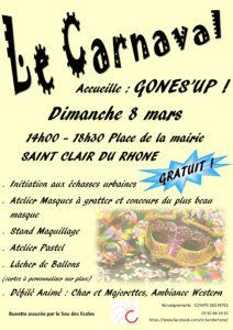 Carnaval du comité des fêtes @ Place Charles de Gaulle