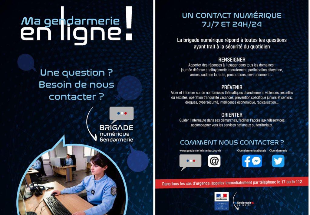Message de la GENDARMERIE @ Gendarmerie